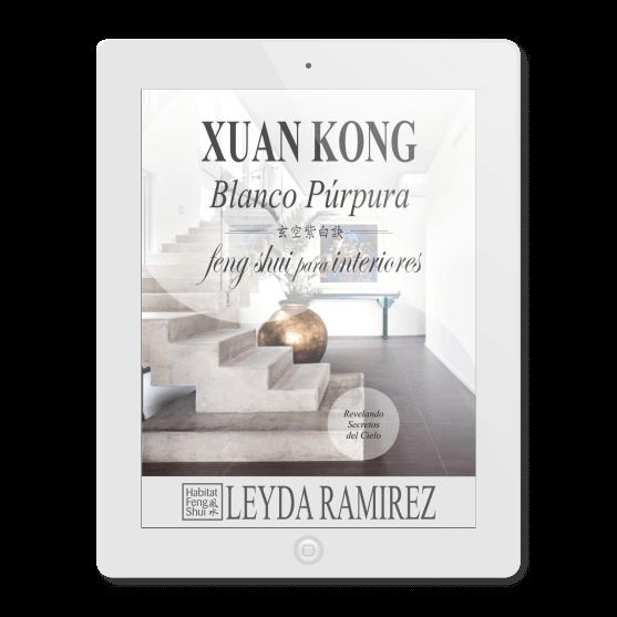 libros feng shui - ebook xuan kong blanco purpura