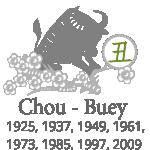 astrología china del mes - buey