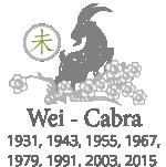 astrología china del mes - cabra
