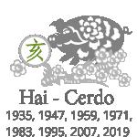 astrología china del mes - cerdo