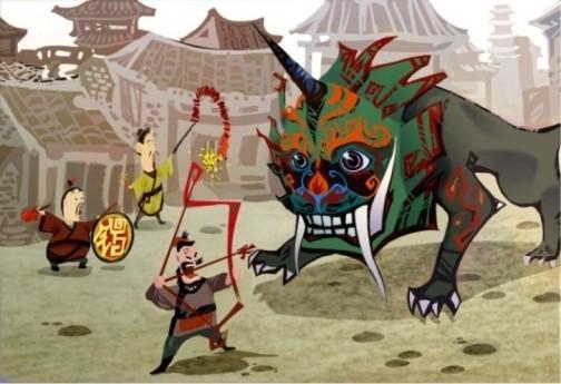año nuevo chino - año de la Rata de Metal Yang